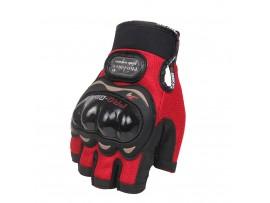 Мотоперчатки Pro-Biker без пальцев красные, размер XXL (MCS-04)