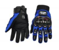 Мотоперчатки Pro-Biker синие, L (MCS-01C)