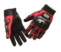 Мотоперчатки Pro-Biker красные, L (MCS-01C)