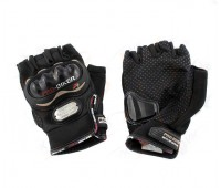 Мотоперчатки Pro-Biker без пальцев черные, размер M, (MCS-04)