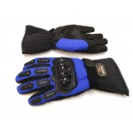 Мотоперчатки зимові Mad Bike сині, розмір L (TF-01)