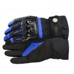 Мотоперчатки зимові Pro-Biker сині, розмір XL