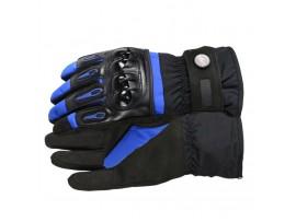 Мотоперчатки зимние Pro-Biker синие, размер XL