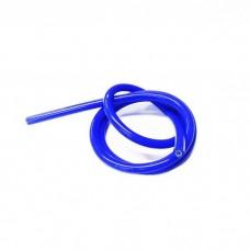 Провод высоковольтный силиконовый синий 1 м