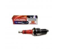 Свеча зажигания Crown 4T F5TC M14 L18 (на китайские мотоблоки, Днепр МТ, Урал, К-750)