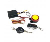 Мотосигнализация JIANG HUANG с заготовкой ключа, 2 брелка