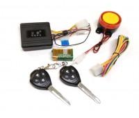 Мото сигнализация с 2-мя заготовками ключа и резервным питанием