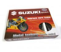 Мото сигнализация Suzuki  с резервным питанием  (№0574)