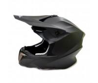 Кроссовый шлем FGN черный матовый, размер L