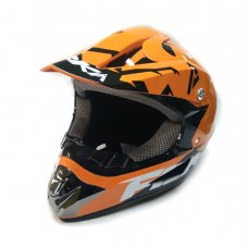 Кроссовый шлем FBK 125 оранжевый, размер М