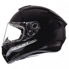 Мотошлем MT Targo Solid Gloss Black, размер XS