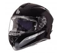 Мотошолом MT Targo Solid Gloss Black, розмір XXL