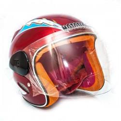Шлем детский без челюсти  MoтоTech  LY-906 красный, размер S