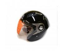 Мотошлем без челюсти MoтоTech WLT-202 черный, размер L