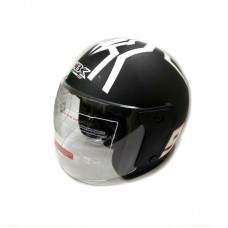 Шлем без челюсти чёрный матовый 868А (№ 93), размер L