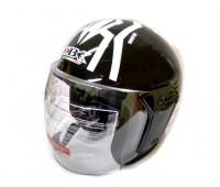 Шлем без челюсти 868А (№ 93) чёрный, размер L