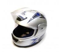 Шлем  интеграл серебро