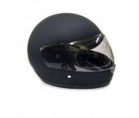 Шлем  интеграл чёрный матовый