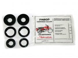 Сальники на мотоцикл Минск 12в (к-т из 6 штук)