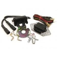 Микропроцессорная бесконтактная система зажигания 1146.3734 на мотоцикл Ява 12В,Ява 6В (с катушкой и проводами), Совек