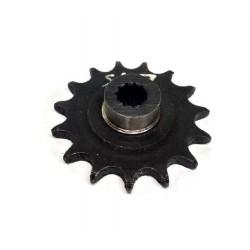 Звезда моторная 15 зубьев на мопед Верховина  (на 11 шлицов)