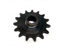 Звезда моторная 15 зубьев на мопед Карпаты (на 13 шлицов)