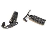 Подножки для мотоцикла боковые (складывающиеся, с кронштейном)