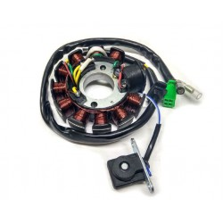 Статор генератора на скутер Viper,  GY6-125/150cc  (10 1 катушек 4 2 конт)