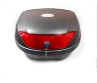 Кофр для скутера FXW HF-881на 2 шолома чорний матовий, знімний