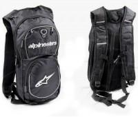 Рюкзак с гидратором Alpinestars, черно-белый