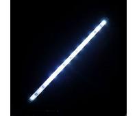 Светодиодная лента 12 вольт, 30см\32 диода 8016  белый свет