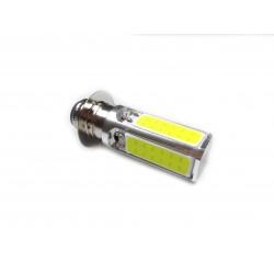 Светодиодная лампа в фару P15d-25 (4 диода, 3 лепестка)