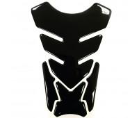 Наклейка на бак мотоцикла черная (М-117)