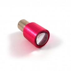 Лампа стоп cигнала диодная 12v S25 красный свет, двухконтактная