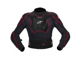 Моточерепаха Alpinestars TCH-001 Black Red, размер XL