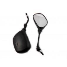"""Зеркала на скутер Yamaha  """"капля"""" 8 мм (к-т 2 штуки)"""