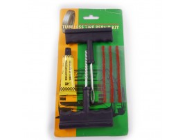 Набор для ремонта шин  (2 шила, 3 шнурка, клей)