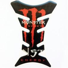 """Наклейка на бак мотоцикла """"Monster Energy"""" (М-102)"""