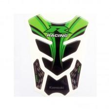 """Наклейка на бак мотоцикла """"R Racing Kawasaki"""" (М-40)"""