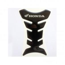 "Наклейка на бак мотоцикла ""Honda"" карбон (М-479)"