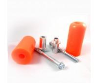 Крашпеды оранжевые L=95 d=50 (к-т 2 шт)
