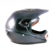 Кроссовый шлем Snauzer 803, цвет карбон