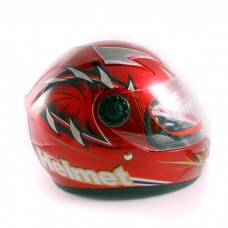 Детский мотошлем интеграл MoтоTech LY-909, красный