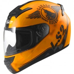 Мотошлем  LS2 FF352 Rookie Fan, Orange Matt, размер M