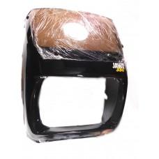 Ветровой щиток на мотоцикл Ява (черный, маленький)