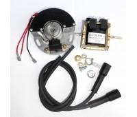 Электронное зажигание на Днепр модуль БСЗ 135.3734 с катушкой 1135.3705 и высоковольтными проводами с насвечниками