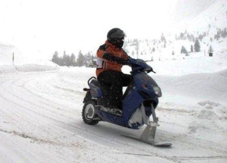 шипы на скутер